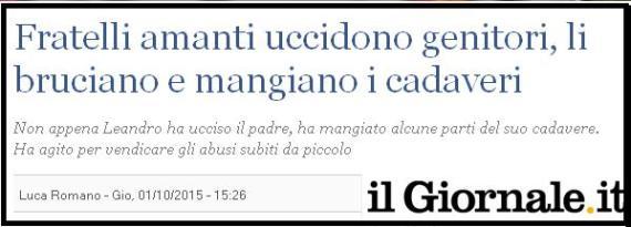 uccidono i genitori - FAMILY DAY - Roma 30 gennaio 2016
